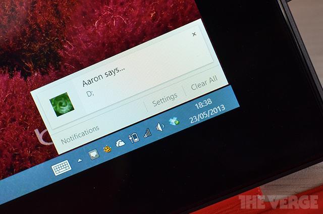 Chrome notification Windows