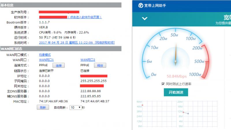 电信光纤100M和企业专线20M对比